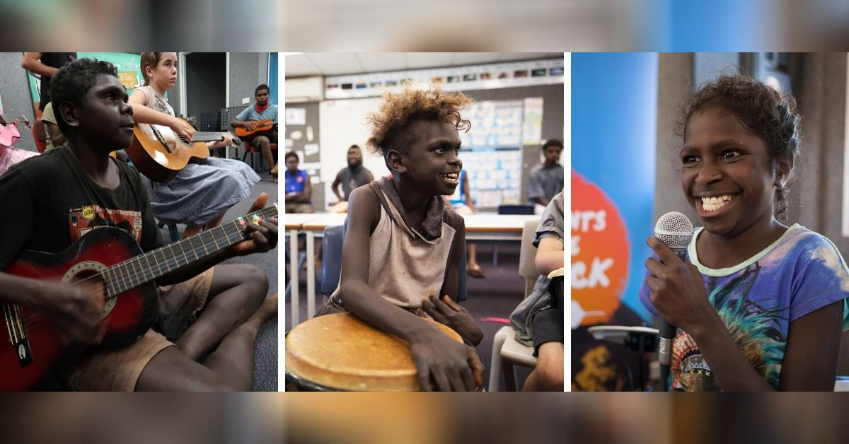 "Bringing Music and Joy to Australia's Remote Indigenous Kids: ""Instruments for the Outback"""