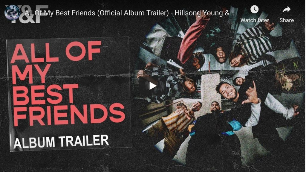 youtube video all of my best friends official album trailer