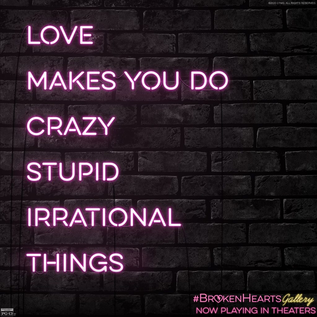 love makes you do crazy stupid irrational things