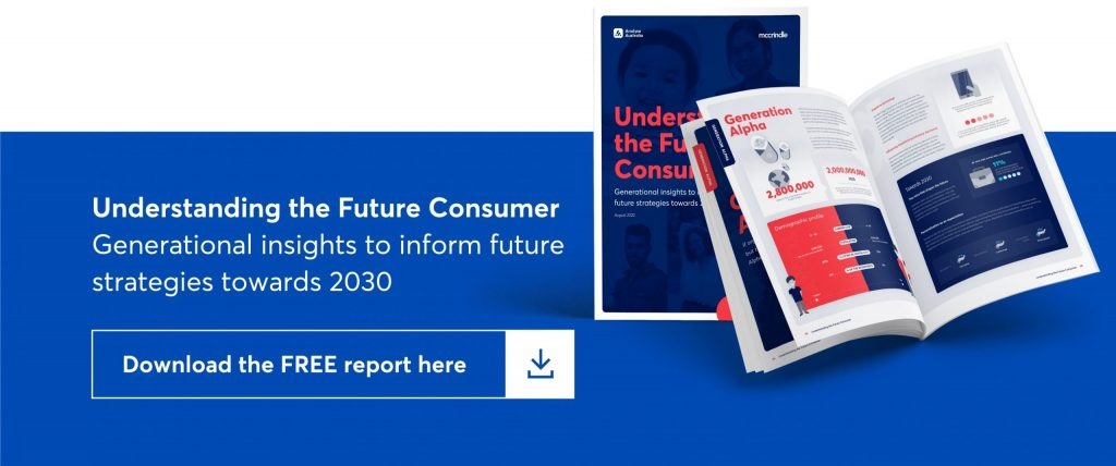 understanding the future consumer. generational insights to inform future strategies towards 2030. download the free report here