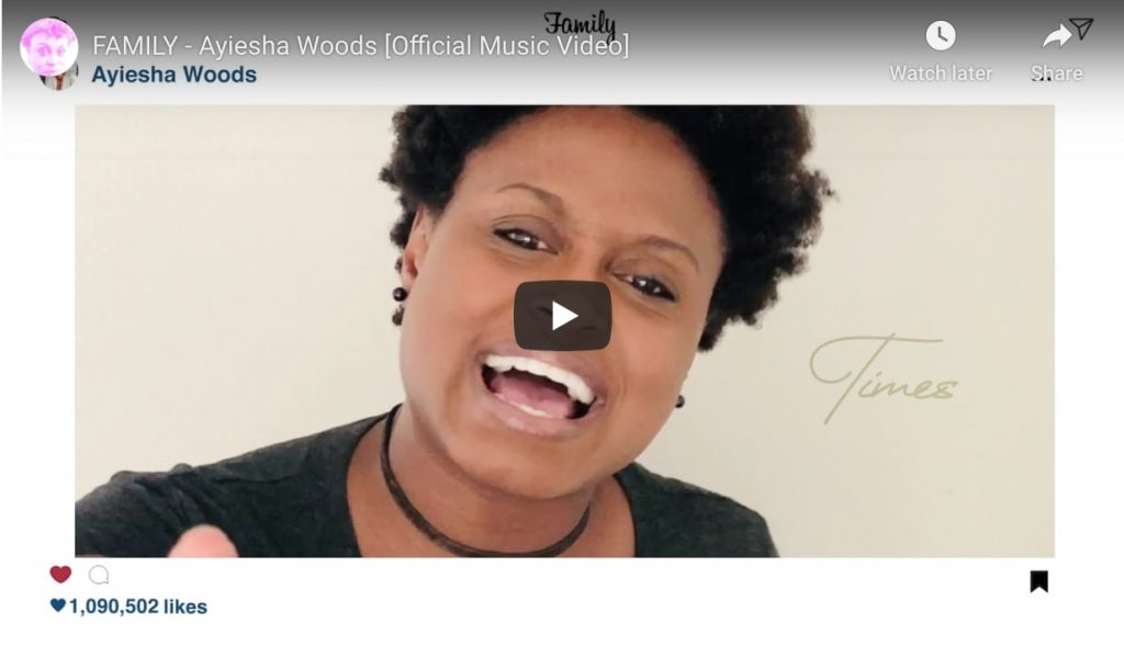 family by ayiesha woods official music video