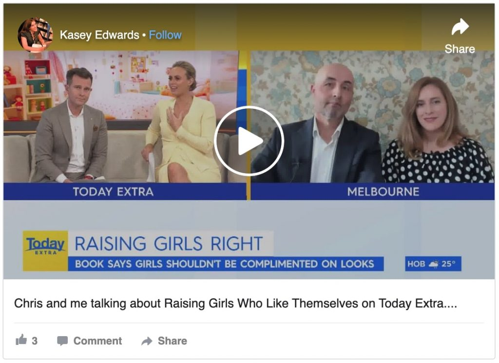 Kasey Edwards and Chris Scanlon interview on TODAY Show